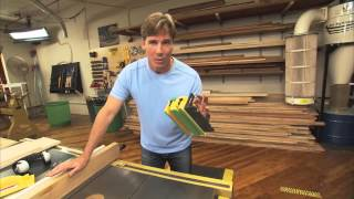 Tommy Mac - Cutting Thin Strips On A Table Saw