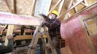 Batt Insulation Part 4: Ceiling Insulation