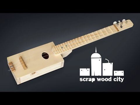 How to make a simple DIY box guitar