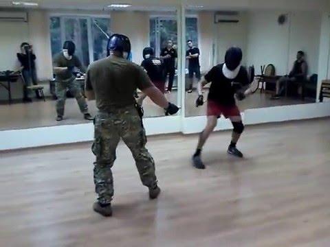 Школа русского ножевого боя в гостях у Толпара (Домодедово) 01