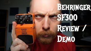 Behringer SF300 Super Fuzz Review and Demo