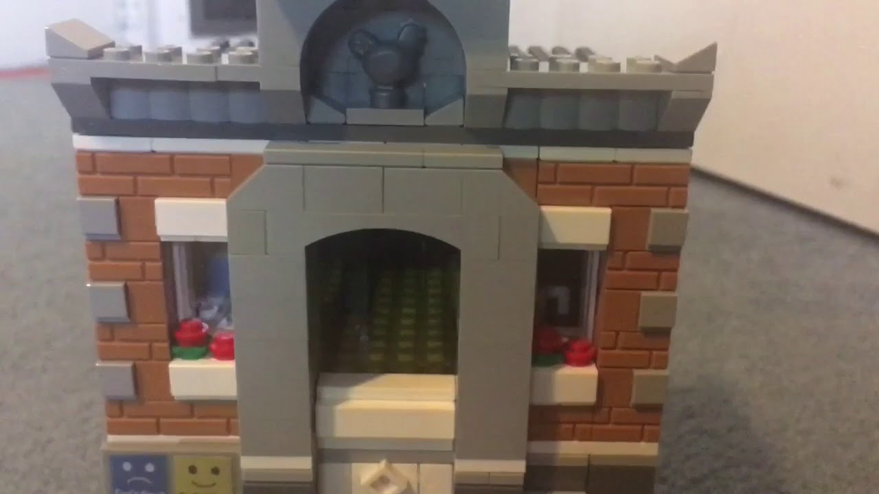 The Lego Movie Emmet S Apartment Custom Modular Moc Reveiw Youtube