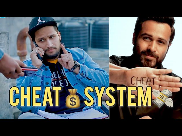 CHEAT SYSTEM || feat :- Emraan Hashmi - Why Cheat India || Hunny Sharma
