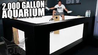 2,000 gallon aquarium, filtration and plumbing! UPDATE!!
