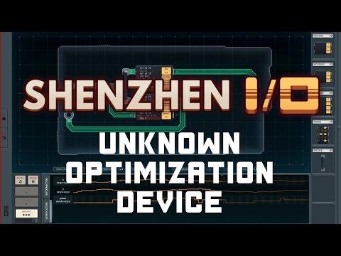 SHENZHEN I/O - Unknown Optimization Device - Solution