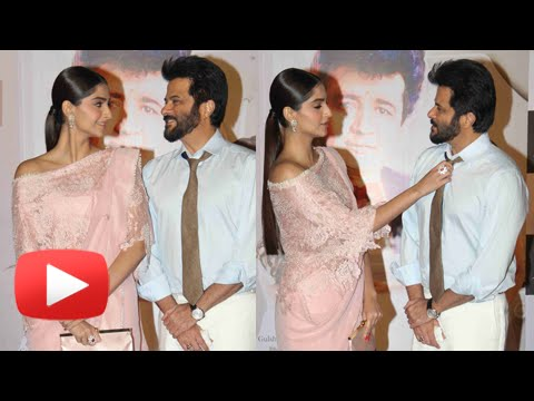 Sonam Kapoor Anil Kapoor Unveiled 'Mere Papa' Song