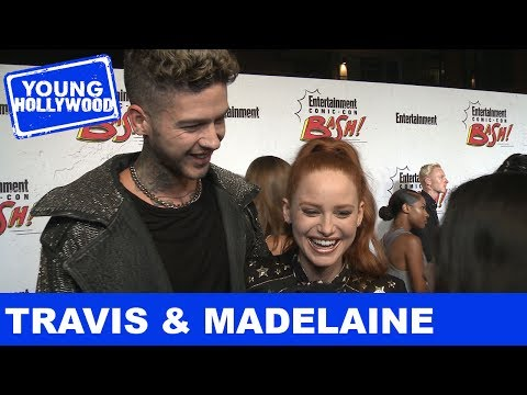 Riverdale's Madelaine Petsch & Travis Mills's Go-To Party Snacks!