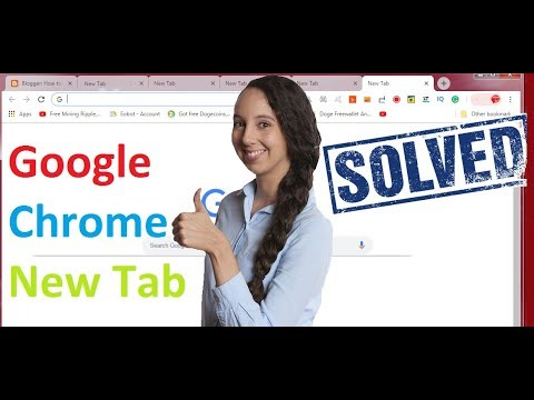 Automatically Opening Of New Tabs Google Chrome (Solved)