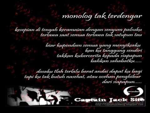 captain jack - monolog tak terdengar