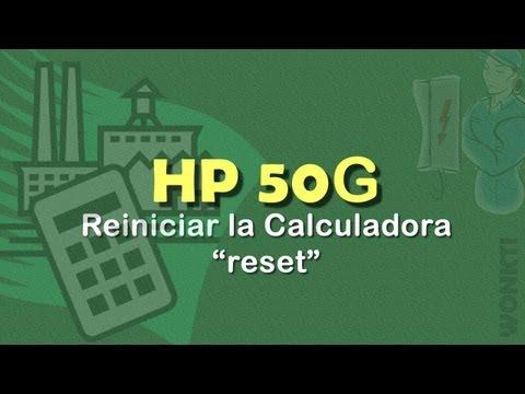 HP 50G - Guía Rápida: ¿Problemas con la Calculadora? No la REINICIES Sin Ver Antes Este Video