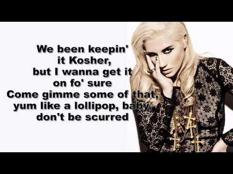 Kesha - C'Mon  (Lyrics On Screen)