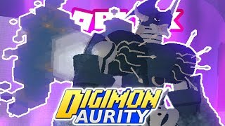 Diigmon Aurity - Digivolving to Yuki ShineGreymon Ruin Mode - *NEW DIGIVOLUTION* (Roblox Gameplay)