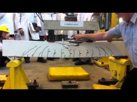Compression beam test