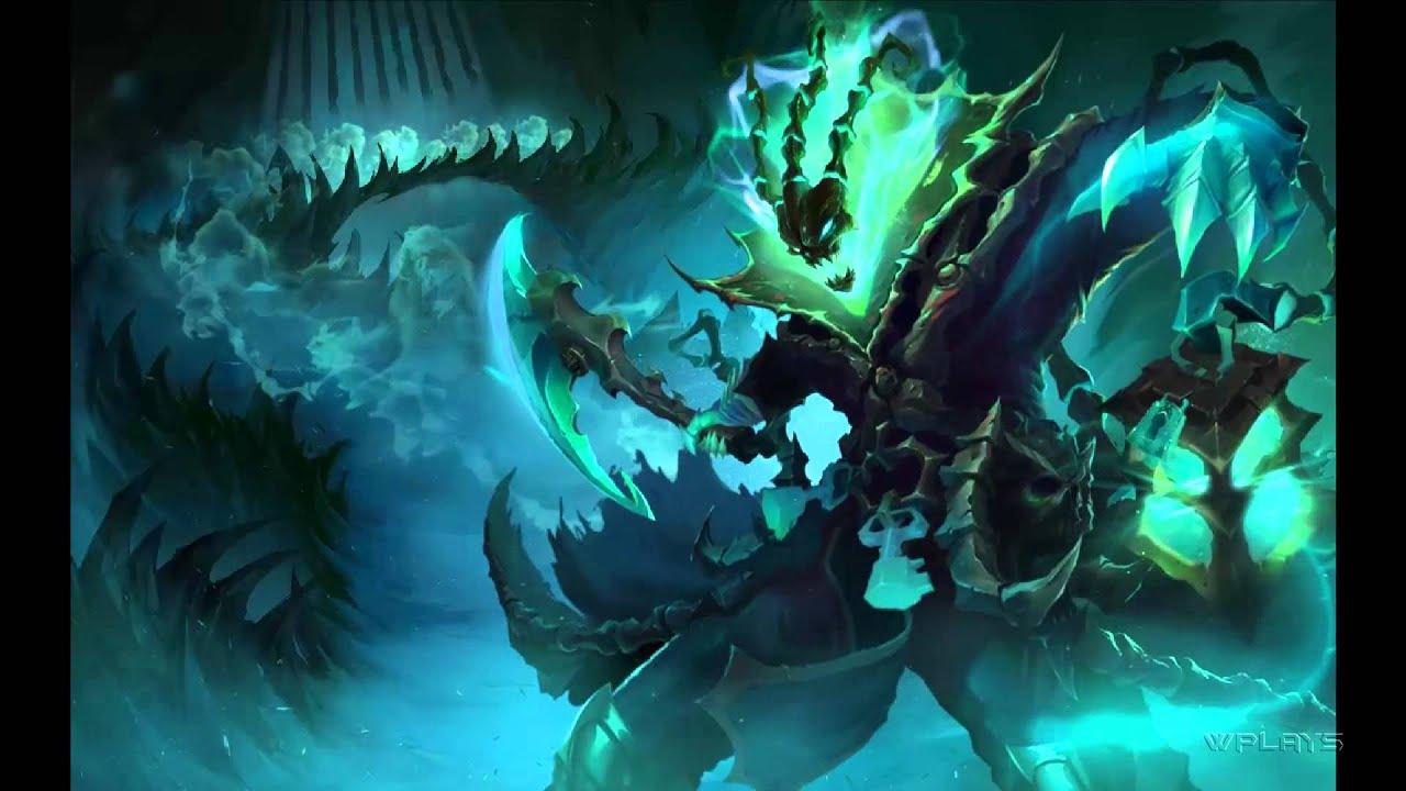 Thresh Login Screen + Lyrics [1080p] League of Legends ...Thresh Wallpaper 1920x1080