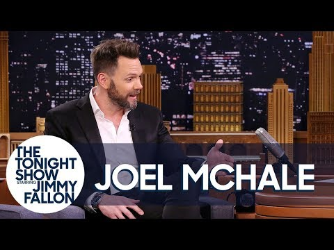 Joel McHale Beat James Marsden in a Celebrity Triathlon