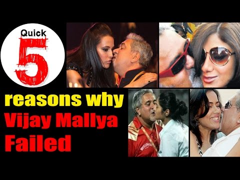 5 Reasons why Vijay Mallya and Kingfisher airlines failed