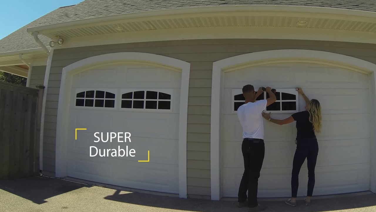 Superieur Coach House Accents Garage Windows   Easy Installation (Time Lapse)