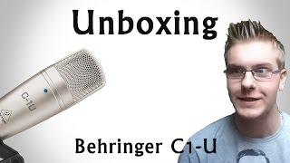 UNBOXING - Mikrofon Behringer C1-U   JoranTV