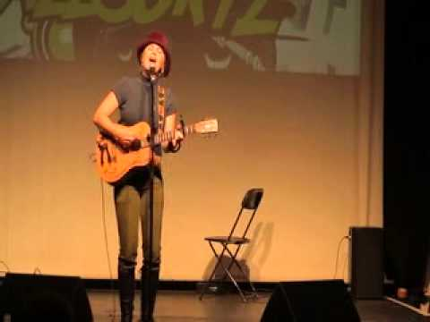 Katie J White LIVE @ Allsortz Open Mic Oct 2013