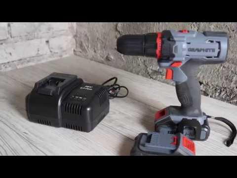 Videorecenzja wiertarko-wkrętarki GRAPHITE 58G227