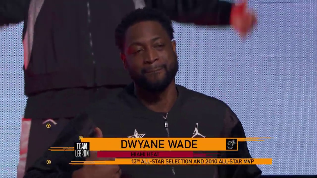 Dwyane Wade Gets One Last All-Star Game Introduction In ...
