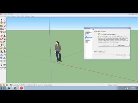 SketchUp #1 - The User Interface - Brooke Godfrey