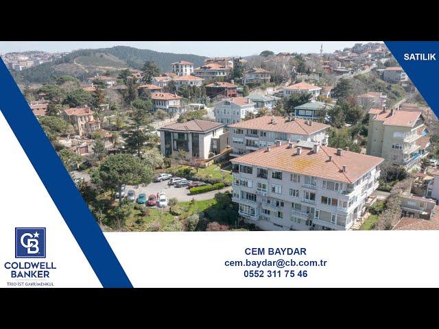 CB TRIO-IST - Cem Baydar - Anadolu Hisarı Boğaz manzaralı daire Satılık
