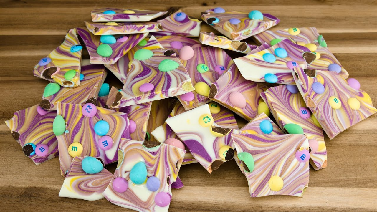 easter chocolate bark by cookies cupcakes and cardio youtube