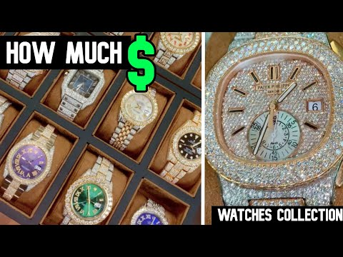 ROLEX, AUDEMARS , PATEK : HOW MUCH FOR ALL THOSE DIAMOND WATCHES ?
