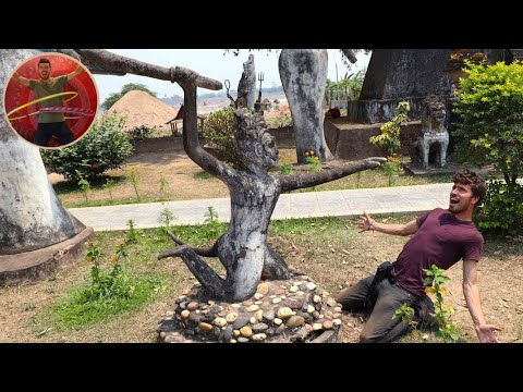 WEIRDEST BUDDHA PARK IN THE WORLD! - VIENTANE LAOS - Ep 144