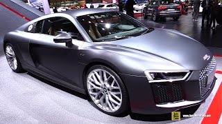 2016 Audi R8 V10 - Exterior and Interior Walkaround - 2015 Geneva Motor Show