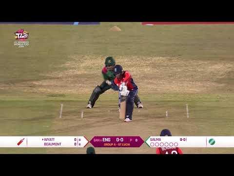 England v Bangladesh - Women's World T20 2018 highlights
