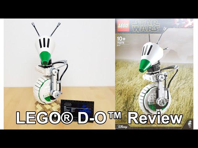 LEGO® Star Wars™ 75278 D-O™ Unboxing / Review und angerissener Aufkleber 😠