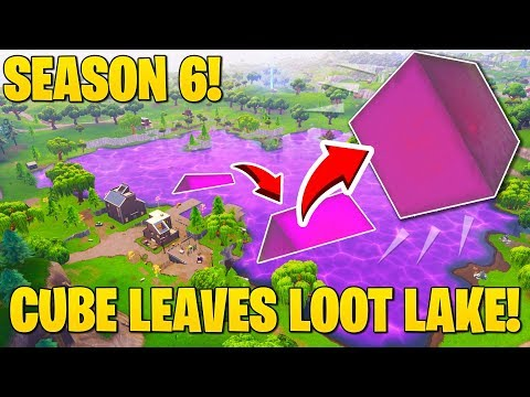 *SEASON 6 LEAK* Cube FORMS BACK and LEAVES Loot Lake! (Map Update SOON!)