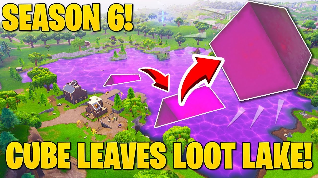 Season 6 Leak Cube Forms Back And Leaves Loot Lake Map Update