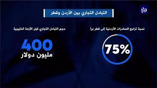 الأزمة الخليجية تسببت بتراجع كبير في صادرات الأردن إلى قطر - (22/2/2020)