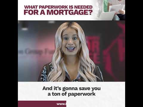 what-paperwork-is-needed-for-a-mortgage?