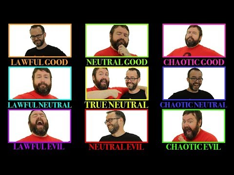 Alignment: Lawful Good to Chaotic Evil in 5e Dungeons & Dragons - Web DM