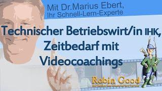 Technischer Betriebswirt, Zeitbedarf mit Videocoachings(http://www.spasslerndenk-shop.de, Technischer Betriebswirt, Zeitbedarf mit Videocoachings., 2016-09-08T11:05:34.000Z)