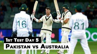 Pakistan vs Australia | 1st Test Day 5 Full Highlights | PCB