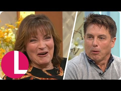I'm a Celeb's John Barrowman Feels the Love For Lorraine After Trying Aphrodisiac Crisps | Lorraine