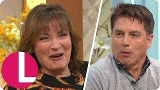 I'm a Celeb's John Barrowman Feels the Love For Lorraine After Trying Aphrodisiac Crisps | Lorraine