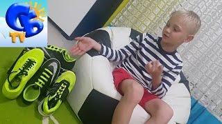 Как красиво зашнуровать сороконожки кроссовки Nike Air Max lacing football boots Nike Mercurial