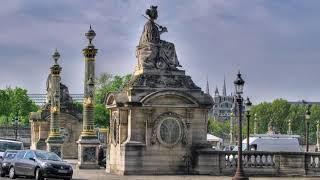 Самые красивые места Парижа(Видео