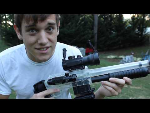 Walmart Crosman Stinger S32P Airsoft Tactical Carbine - BEEFED UP VERSION!