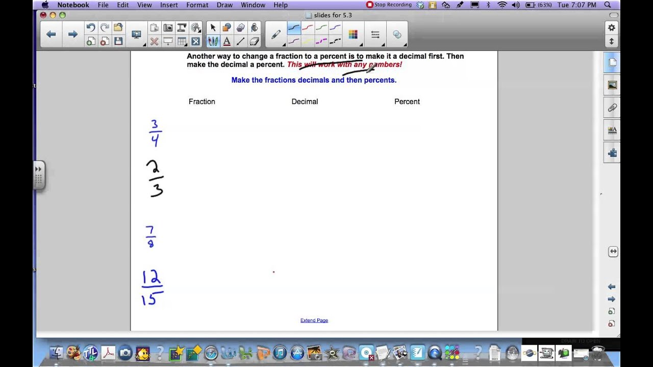 math worksheet : writing terminating decimals as fractions worksheets  lesson 5 6  : Writing Fractions As Decimals Worksheet