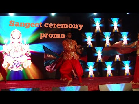 Sangeet ceremony promo | choreography by DANCE BUSTER | bride and groom entry