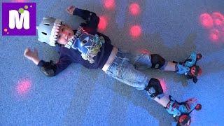 Rich Sport первое катание на самокате первые шаги на роликах  Леопарк детский развлекательный центр(Первое катание на самокате и роликовых коньках в Рич Спорт Ленд побегаем и поиграем в детском развлекатель..., 2015-05-30T12:08:47.000Z)