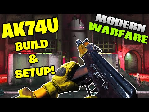 COD Modern Warfare ak74U BUILD & BEST CLASS SETUP! (Call of Duty MW)