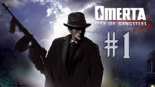 Omerta: City of Gangsters - Walkthrough - Part 1 - Welcome to Atlantic City (PC/X360) [HD]